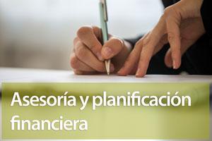 Asesoría y planificación financiera